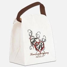 Breaking Dawn Hearts copy Canvas Lunch Bag
