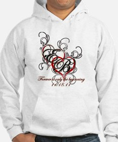 Breaking Dawn Hearts copy Hoodie