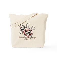 Breaking Dawn Hearts copy Tote Bag