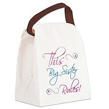 RulesBigSister Canvas Lunch Bag