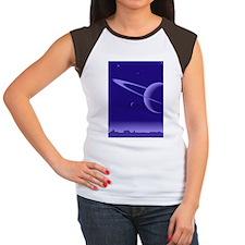 AQUA_3G Women's Cap Sleeve T-Shirt