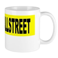 occupy wall street plate Small Mug
