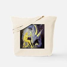 Light Tamer Dragon Pin-up Tote Bag