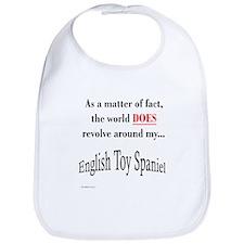 Toy Spaniel World Bib