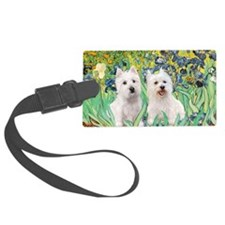 Irises-Westies 3and11-smaller Luggage Tag