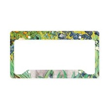Irises-Westies 3and11-smaller License Plate Holder