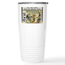 Principles of Maat Travel Mug