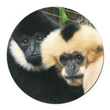 gibbons Round Car Magnet