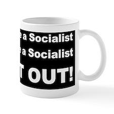 anti socailist walks talksd Mug