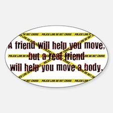 move a body Sticker (Oval)