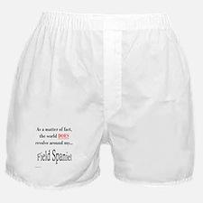 Field Spaniel World Boxer Shorts