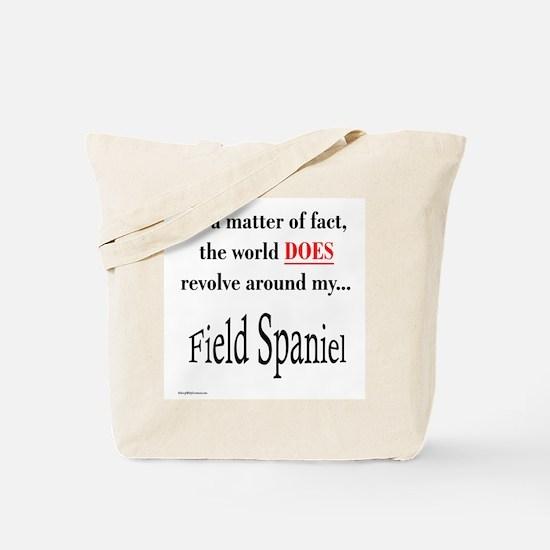 Field Spaniel World Tote Bag