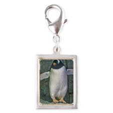 penguin Silver Portrait Charm
