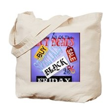 Hot Deals-Black Friday PosterP Tote Bag