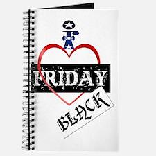 I Love Black Friday Trans Journal