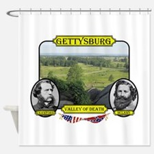 Gettysburg - Valley of Death Shower Curtain