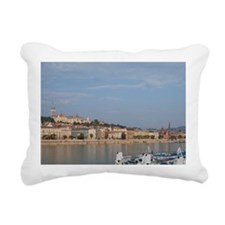 Budapest. Early morning  Rectangular Canvas Pillow