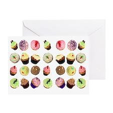 CupcakesToiletryBag Greeting Card