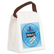 I Love Black Friday-circle Canvas Lunch Bag