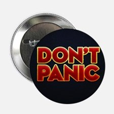 "dont panic 2.25"" Button"