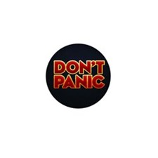 dont panic Mini Button
