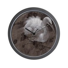 Egret Dream square name Wall Clock