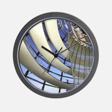 Europe, Germany, Berlin. Reichstag dome Wall Clock
