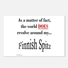 Finnish Spitz World Postcards (Package of 8)