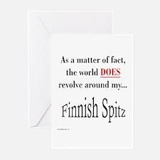 Finnish Spitz World Greeting Cards (Pk of 10)