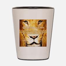 Lion of Judah3 Shot Glass