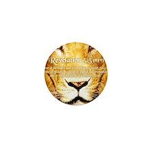 Lion of Judah3 Mini Button