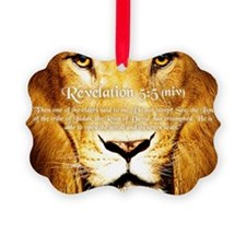 Lion of Judah3 Ornament