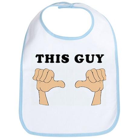 Who's Got Two Thumbs...This G Bib