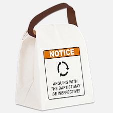 Baptist_Notice_Argue_RK2011 Canvas Lunch Bag