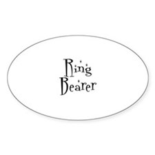 Ring Bearer Oval Decal