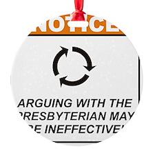 Presbyterian_Notice_Argue_RK2011 Ornament