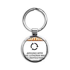 Lutheran_Notice_Argue_RK2011 Round Keychain