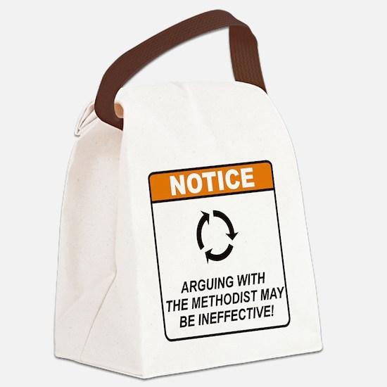 Methodist_Notice_Argue_RK2011 Canvas Lunch Bag