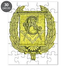 Masonic Gold Emblem Puzzle