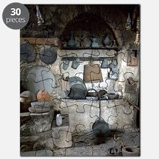 Greece, Meteora. Kitchen of Grand Meteora M Puzzle