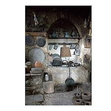 Greece, Meteora. Kitchen  Postcards (Package of 8)