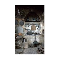 Greece, Meteora. Kitchen of Gr Decal