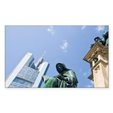 View from Goethe Platz square  Decal