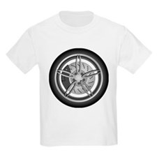 Car Tire and Rim T-Shirt