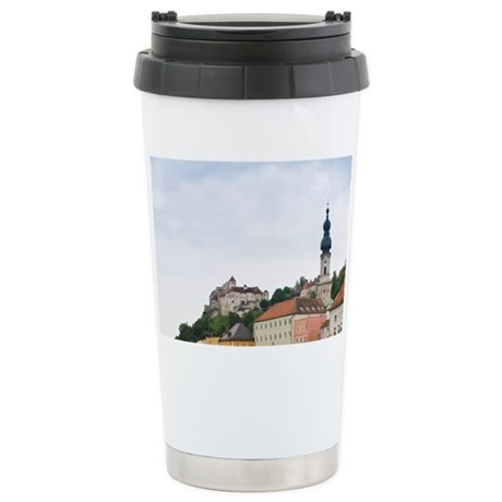 Burghausen. Medieval town along Stainless Steel Tr