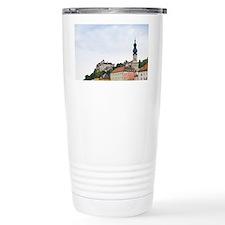 Burghausen. Medieval town along Travel Mug