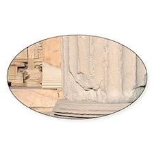 Greek Art. Erechtheum. Temple ionic Decal