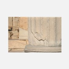 Greek Art. Erechtheum. Temple ion Rectangle Magnet