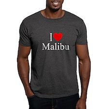 """""""I Love Malibu"""" T-Shirt"""