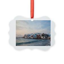 Little Venice with outdoor restau Ornament